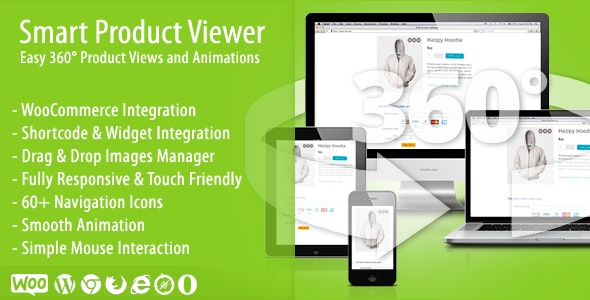 Smart Product Viewer - 360º Animation Plugin - CodeCanyon Item for Sale
