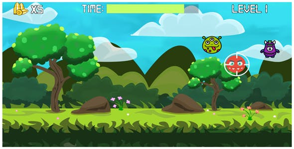 Unity Monsters Defense - Shooting Game