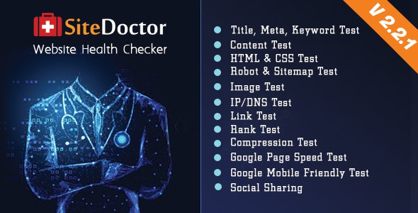 SiteDoctor - A XeroSEO Add-on : Website Health Checker - CodeCanyon Item for Sale