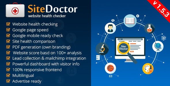 SiteDoctor - Website Health Checker