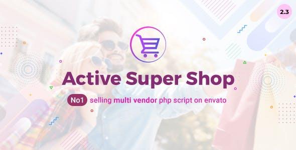 Active Super Shop Multi-vendor CMS