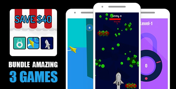 BUNDLE 3 AMAZING 3D GAMES BUILDBOX PROJECT-ANDROID STUDIO FILE-IOS XCODE FILE WITH ADMOB - CodeCanyon Item for Sale