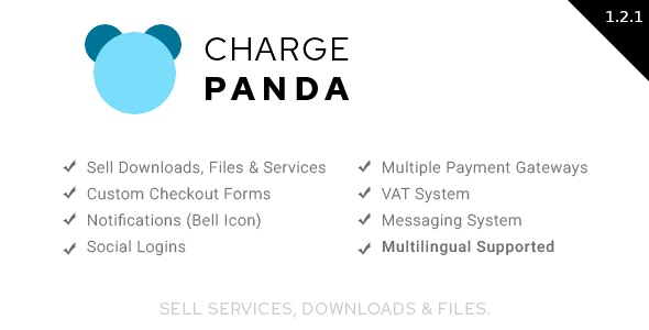 ChargePanda - Sell Downloads, Files and Services (PHP Script) - CodeCanyon Item for Sale