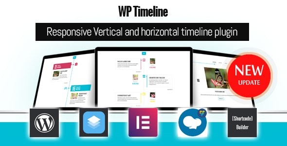 WP Timeline – Vertical and Horizontal timeline plugin - CodeCanyon Item for Sale