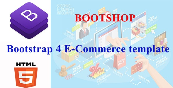 BootShop - Starter Flexible E-commerce Template With Crud Net Core MVC Datatable - CodeCanyon Item for Sale