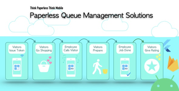 Paperless Queue Management Solutions for Android - CodeCanyon Item for Sale