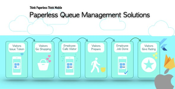 Paperless Queue Management Solutions for iOS