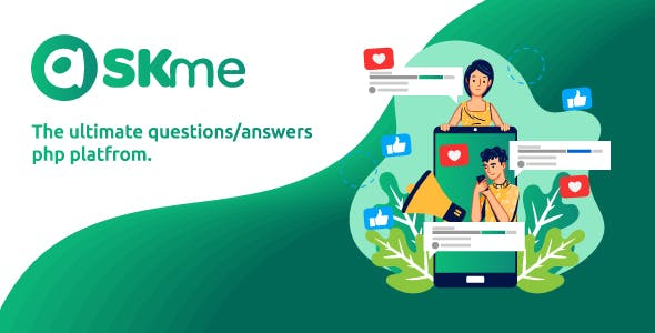 AskMe - The Ultimate PHP Questions & Answers Social Network Platform