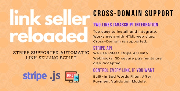 Link Seller Reloaded - CodeCanyon Item for Sale