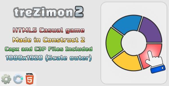 treZimon2 - HTML5 Memory Game