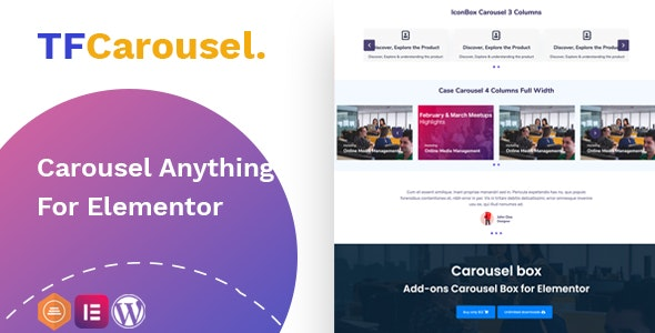 Elementor Carousel - Create slider with any addon, widget - CodeCanyon Item for Sale