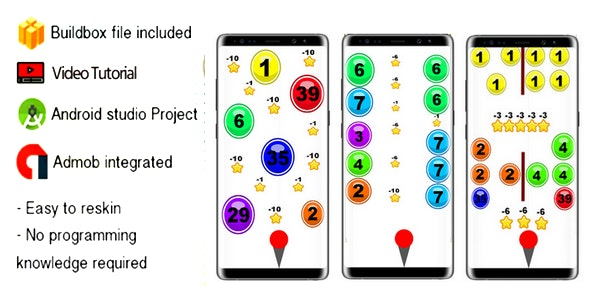 ZIG ZAG BALL UP BUILDBOX 2.2.3 ANDROID STUDIO - CodeCanyon Item for Sale