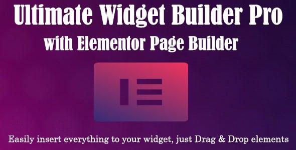 Ultimate Widget Builder Pro with Elementor Page Builder