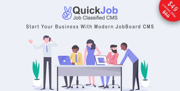 QuickJob - Job Board PHP Script