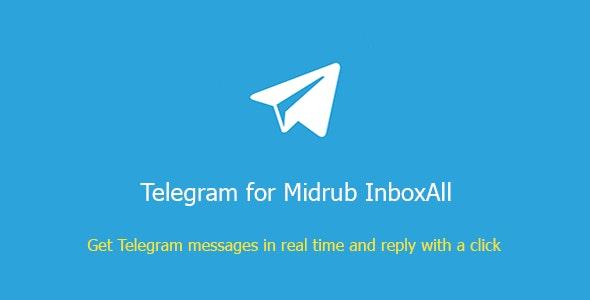 Telegram Groups for Midrub InboxAll - CodeCanyon Item for Sale