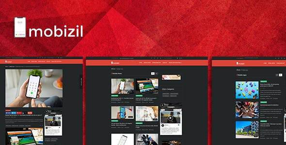 mobizil – script News and Business mobile System with Website