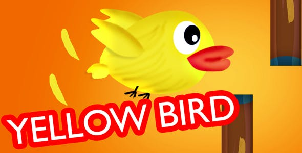 Yellow Bird HTML5 capx (construct 2) with admob Integrated