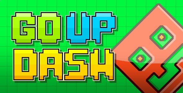 Go Up Dash - HTML5 Game (Construct 3 / Construct 2 / Capx / c3p)