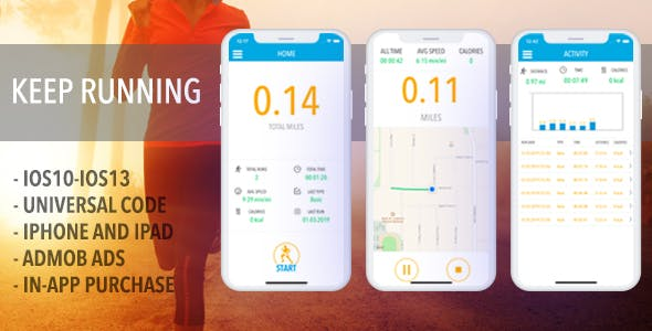 RunTheMap - Run And Walk Tracker