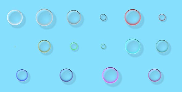 Pure CSS Bubble Loader Animation / Preloader