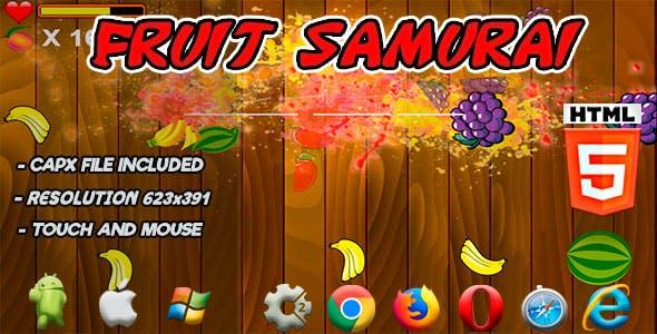 Fruit Samurai - HTML5 Game