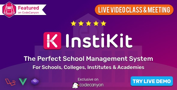 InstiKit School - School Management System & School ERP - CodeCanyon Item for Sale