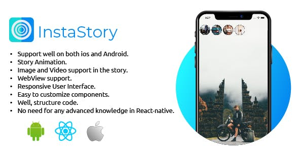InstaStory - ReactNative Instagram Story