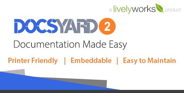 Docsyard - Easy Documentation Tool - CodeCanyon Item for Sale
