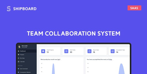 Shipboard SaaS - Team Collaboration System