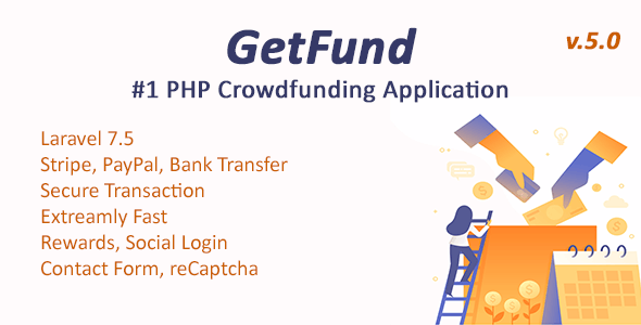 GetFund - A Professional Laravel Crowdfunding Platform - CodeCanyon Item for Sale