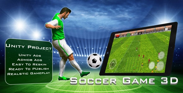 Soccer Game 3D - CodeCanyon Item for Sale