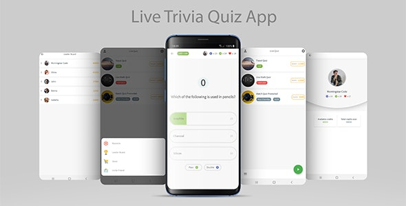 Live Trivia Quiz Game with Firebase and Admin Panel - CodeCanyon Item for Sale