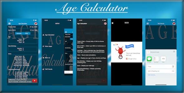 Age Calculator - iOS App