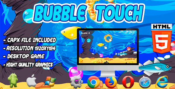 Bubble Touch System - Html5 Game - CodeCanyon Item for Sale