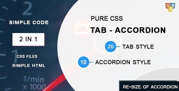Tab Switch Accordion Pure CSS