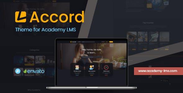 Accord - Academy Lms Dark Theme