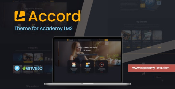 Accord - Academy Lms Dark Theme - CodeCanyon Item for Sale