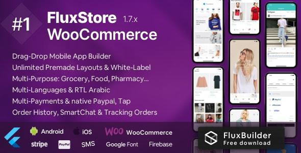 Fluxstore WooCommerce - Flutter E-commerce Full App - CodeCanyon Item for Sale