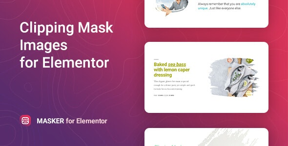 Masker – Clipping Mask for Elementor - CodeCanyon Item for Sale