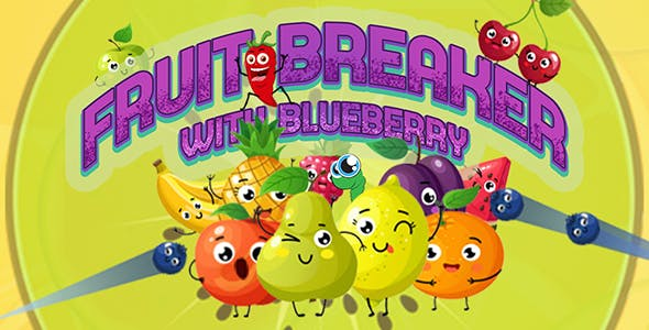 Fruit Breaker Game (CAPX | HTML5 | Cordova) Bricks Breaker Game