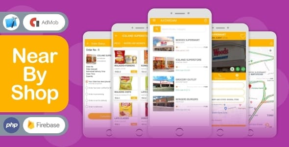NearByShop- Customer can buy products from nearest store- iOS App