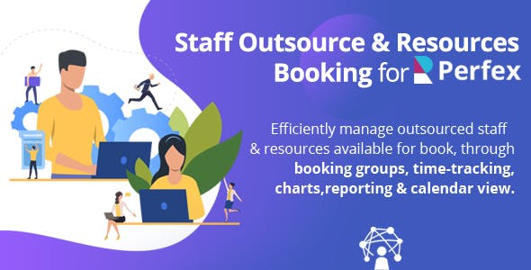 Staff Outsourcing & Resources Booking for Perfex CRM - Outsource your employees