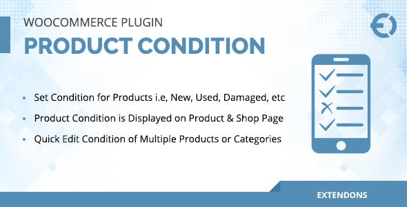 WooCommerce Product Condition Plugin