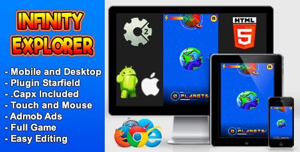 Infinity Explorer - Game Full Mobile and Desktop