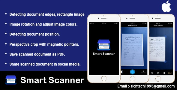 SMART SCANNER | iOS - CodeCanyon Item for Sale