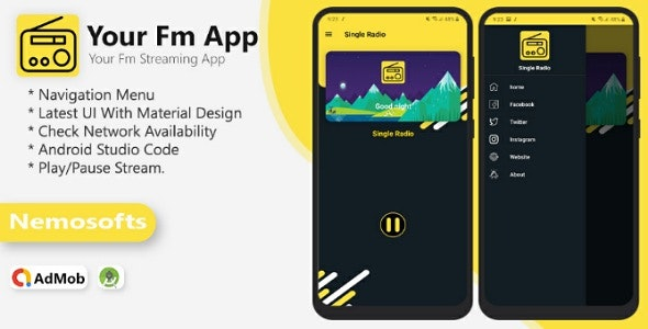 Your Radio App - CodeCanyon Item for Sale