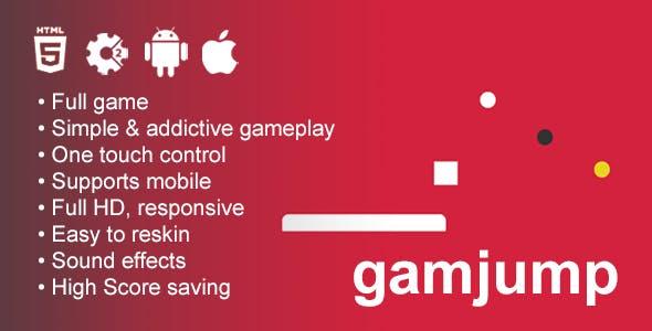 Gamjump - HTML5 Game Construct 2