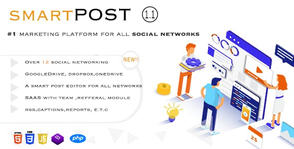Smart Post - Social Marketing Tool