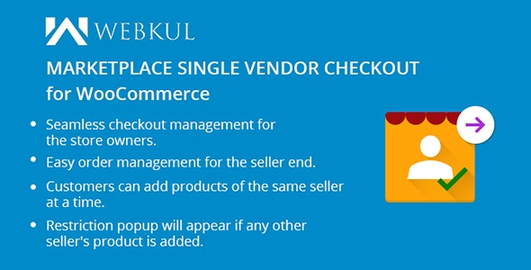 WooCommerce Marketplace Single Seller Checkout - CodeCanyon Item for Sale