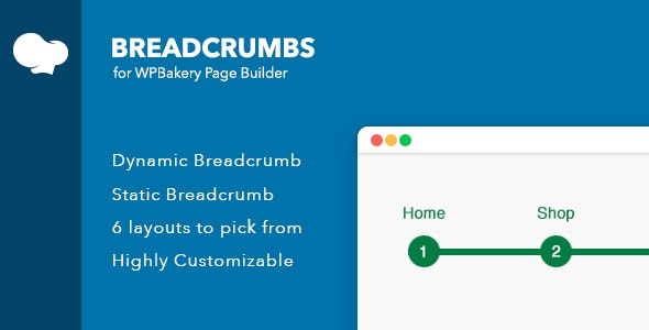 Breadcrumbs for WPBakery Page Builder (Visual Composer) - CodeCanyon Item for Sale